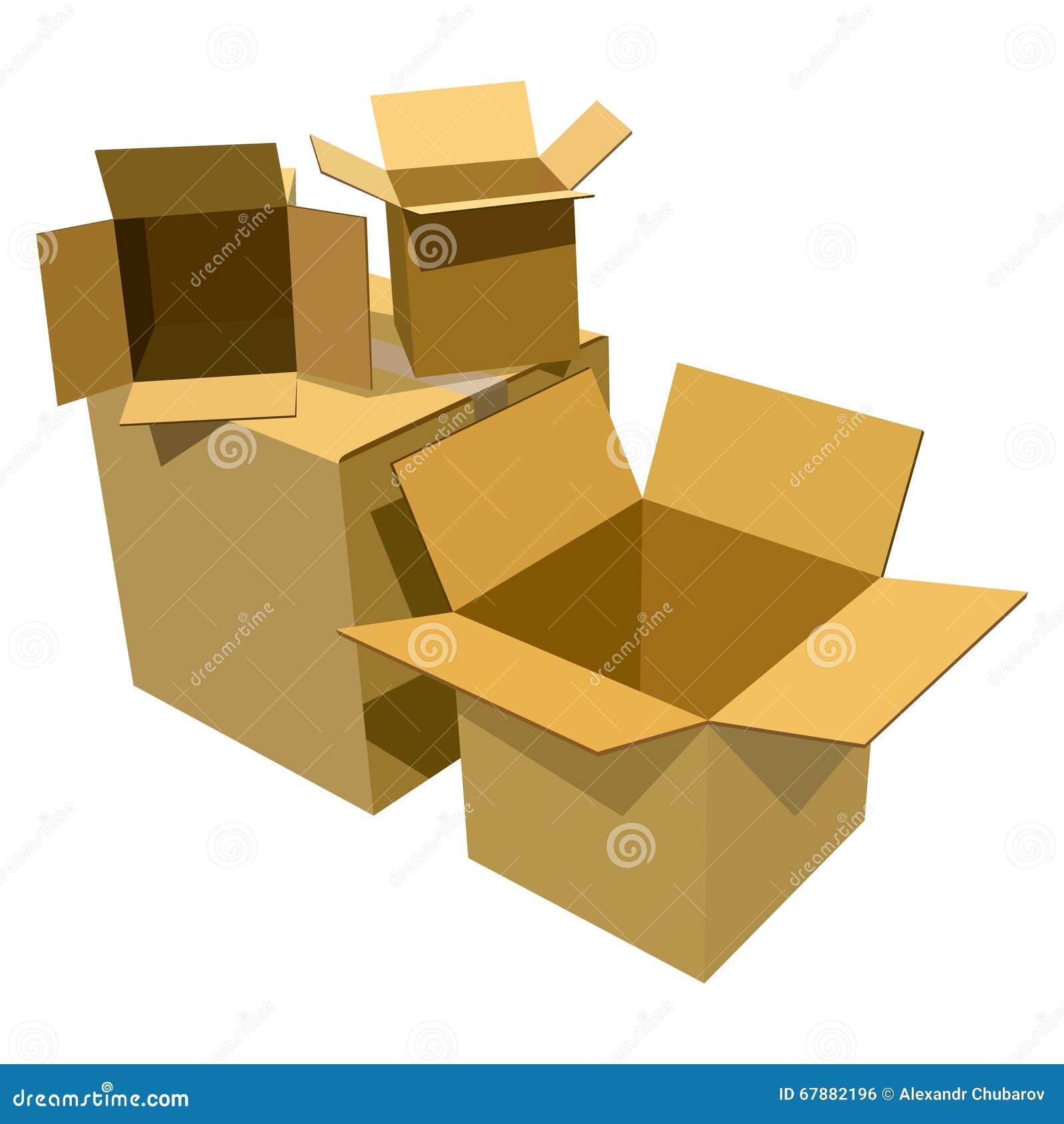 把纸板堆装箱