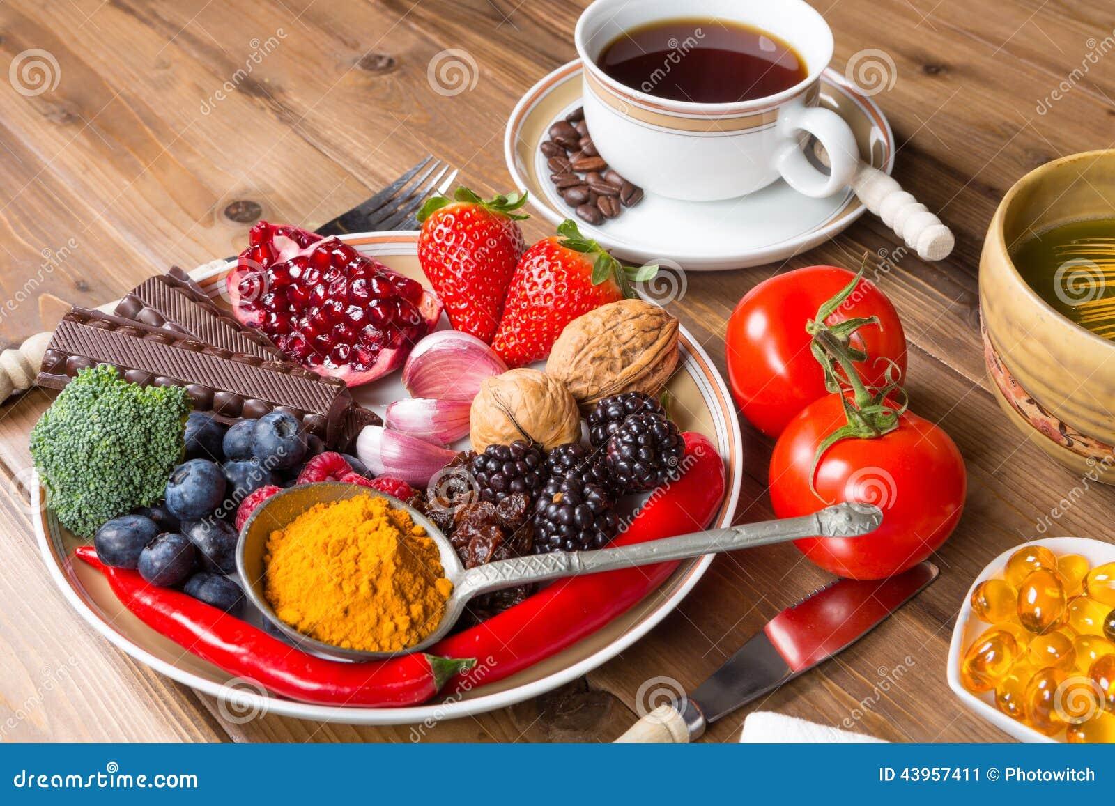 抗氧化膳食