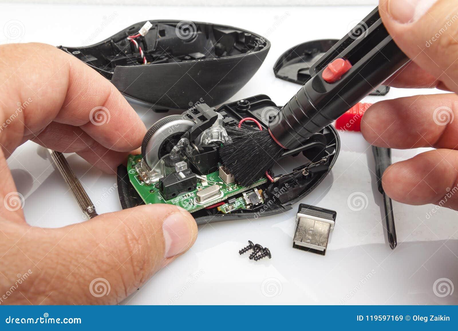 折除了计算机老鼠