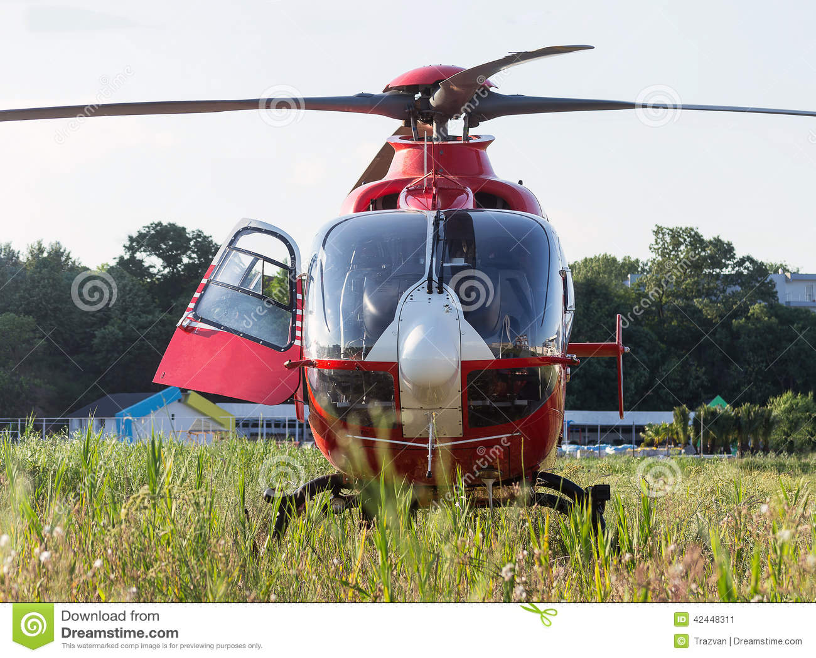抢救直升机
