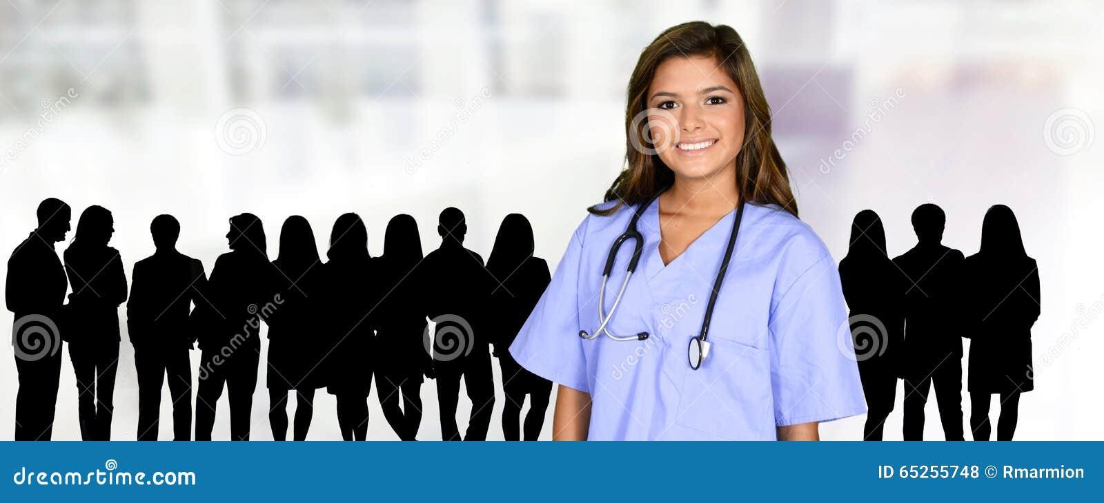 护士在医院