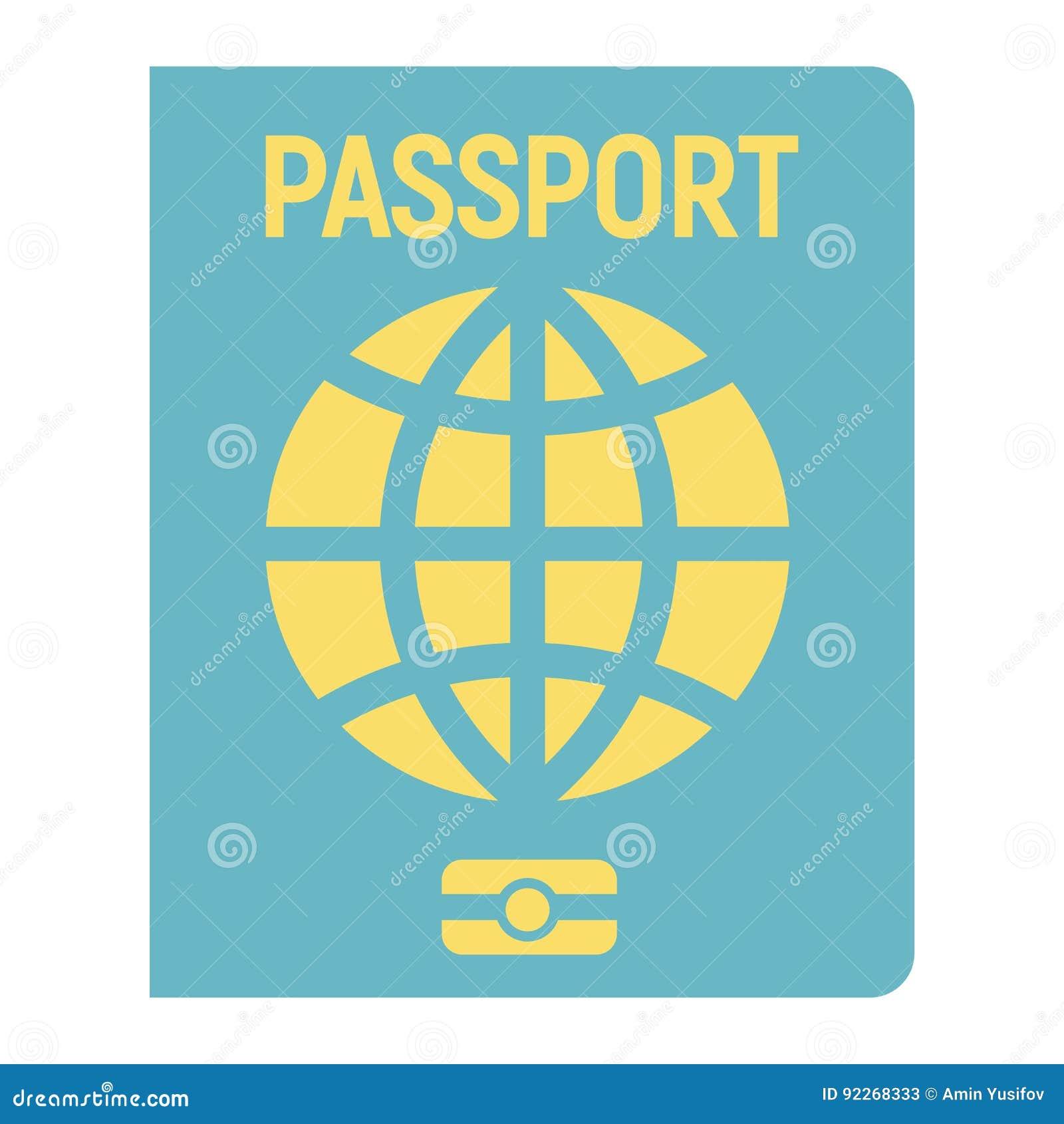 护照平的象、旅行和公民身份