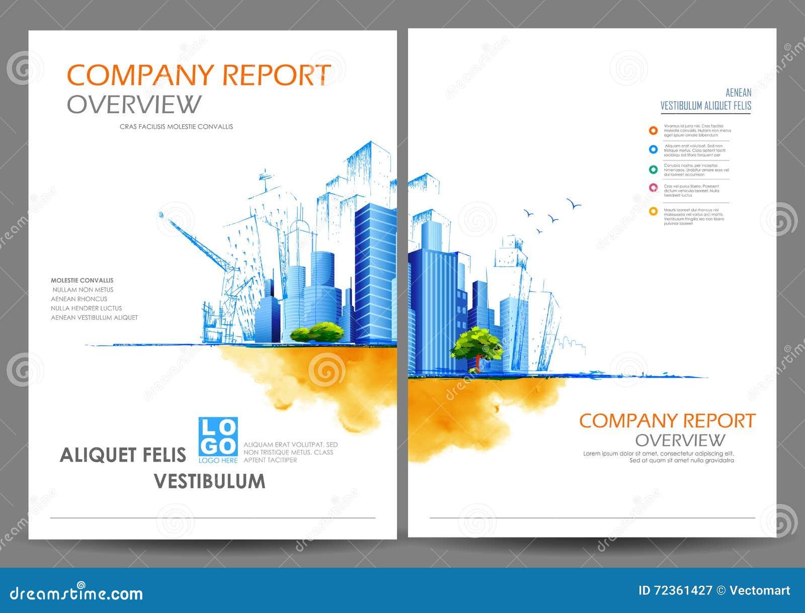 年终报告和介绍模板设计