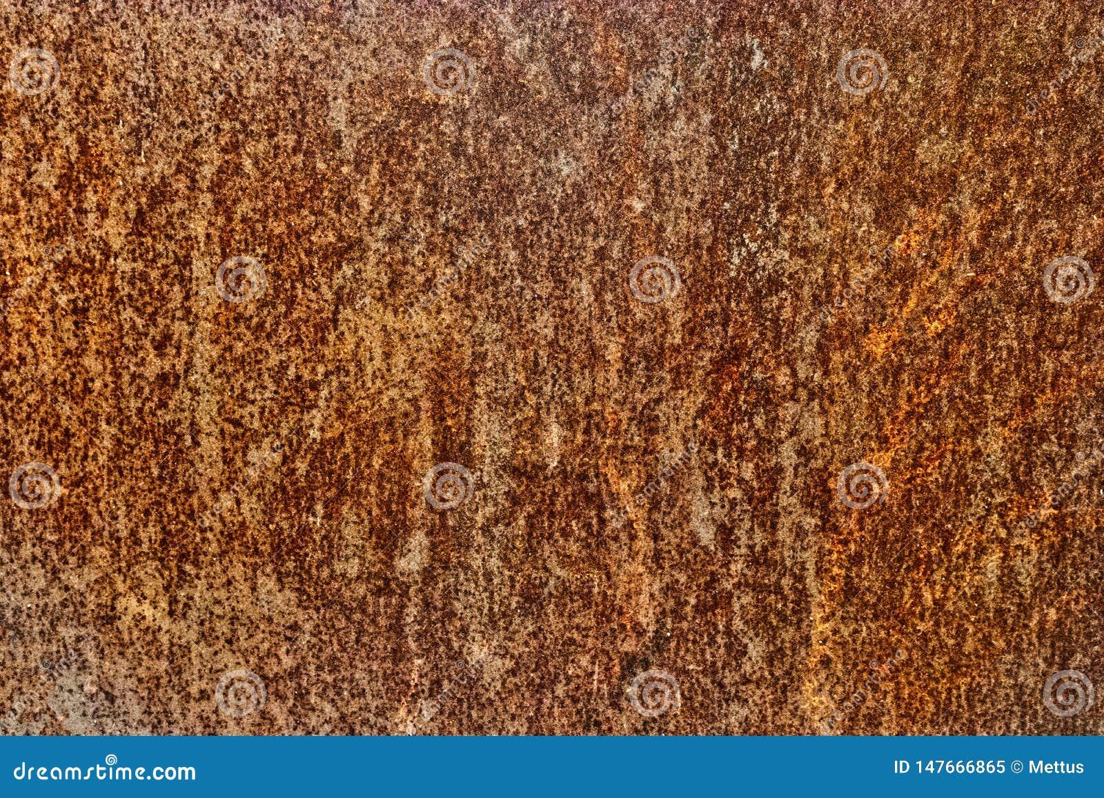 报道铁板料表面的对比铁锈