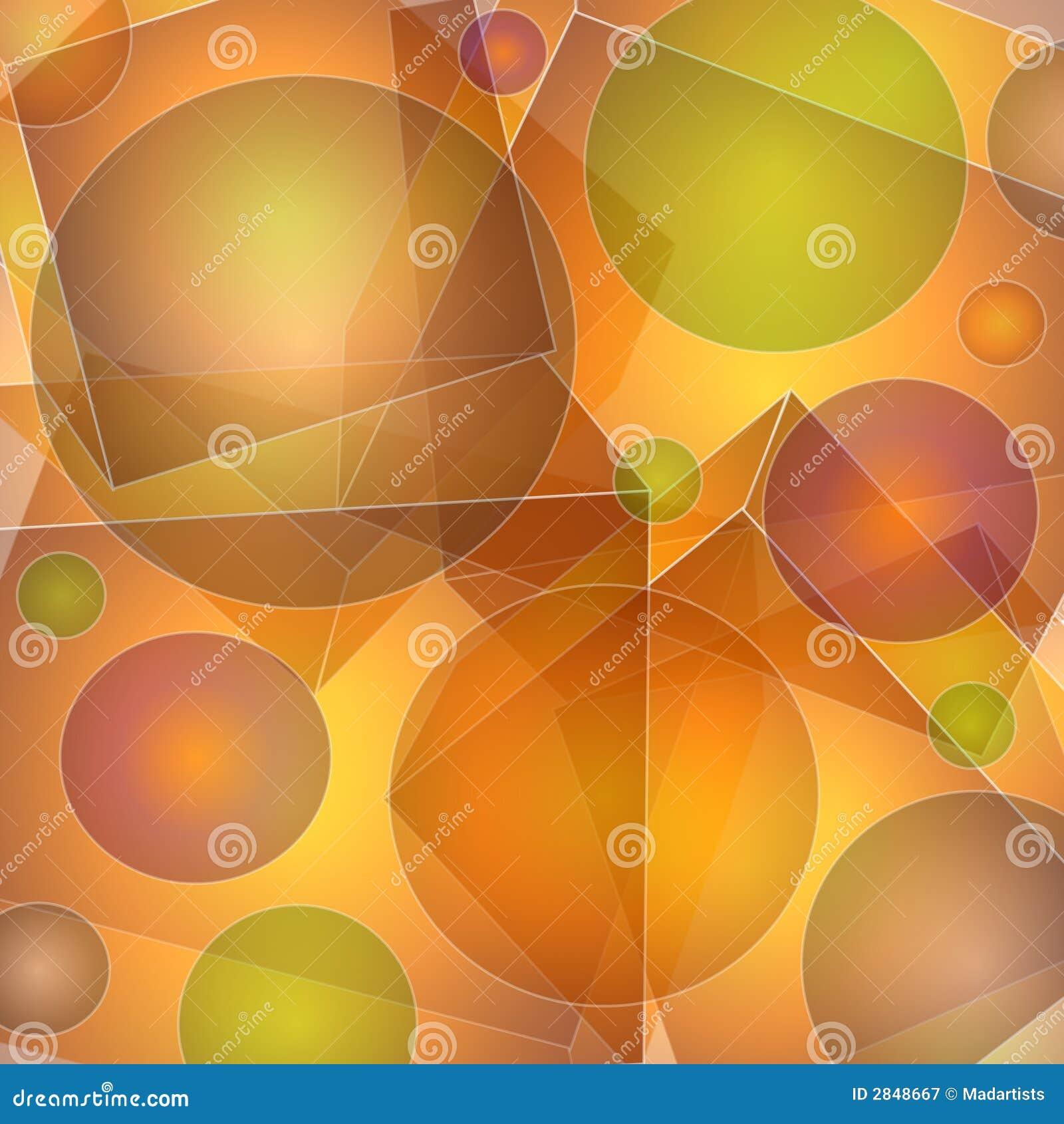 抽象不透明的模式形状