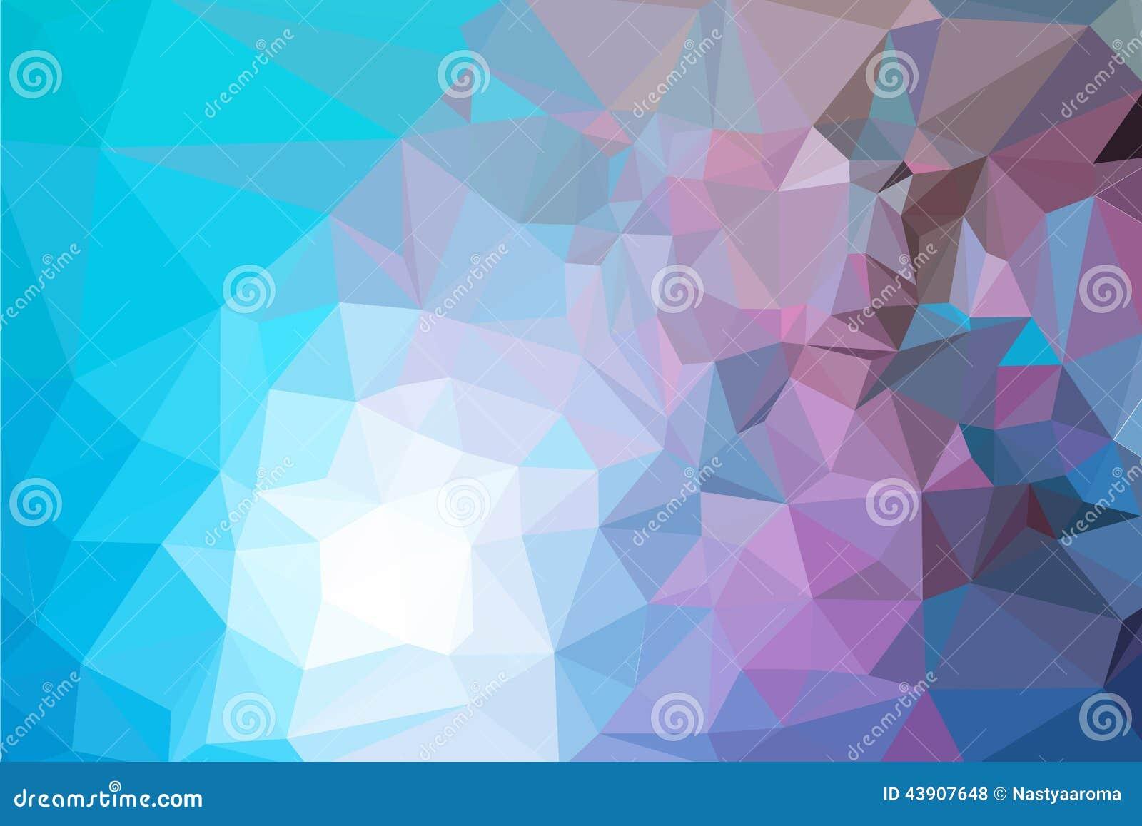 五颜六色的意思_抽象五颜六色的三角背景