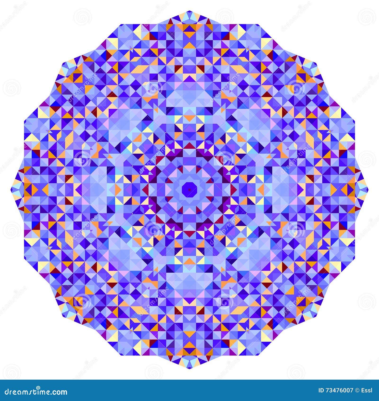 抽象五颜六色的圈子背景