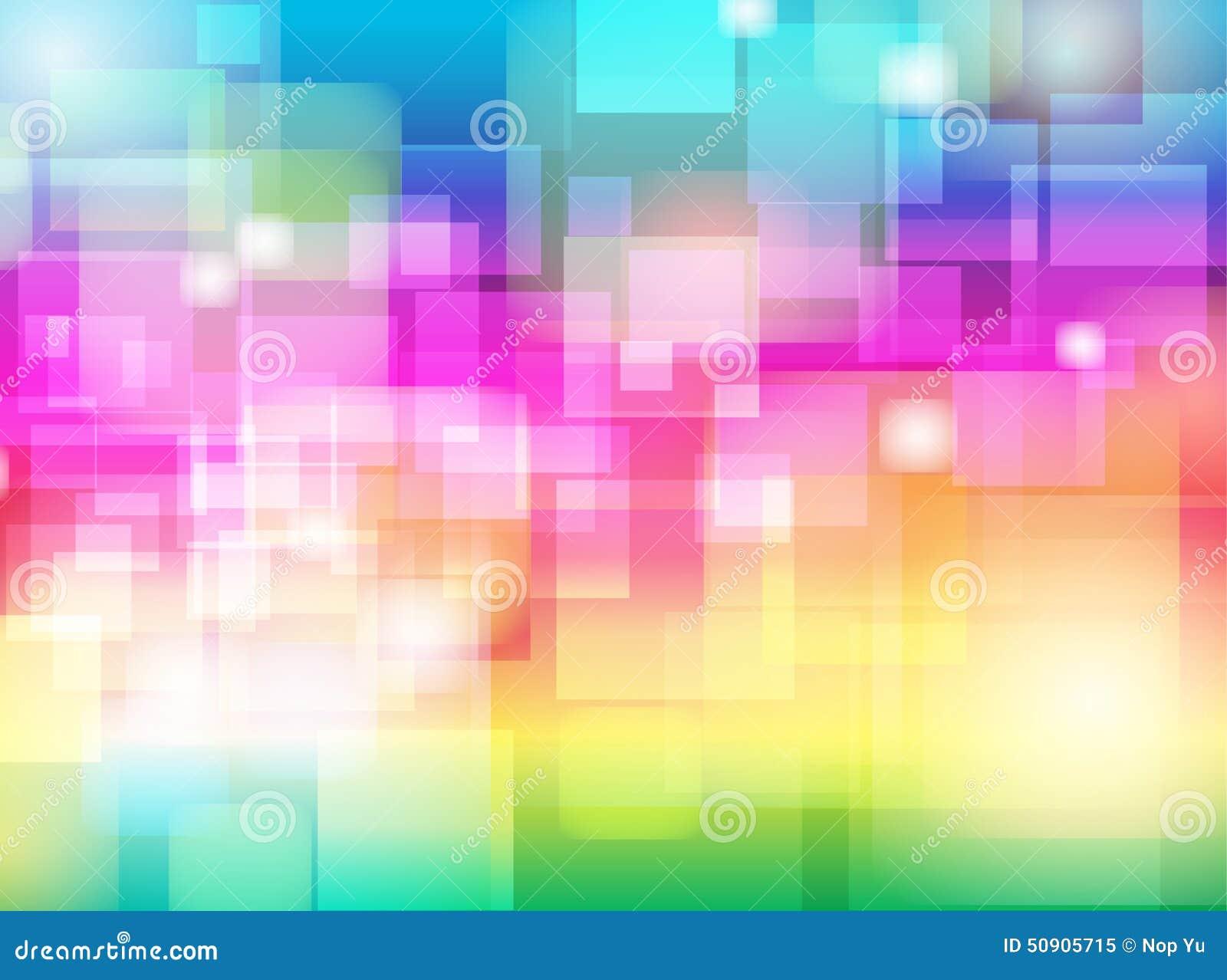 抽象五颜六色的迷离Bokeh背景设计