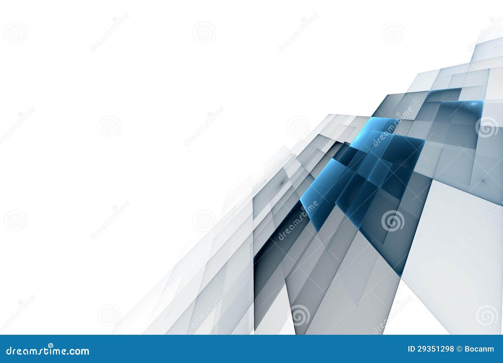 抽象企业科学或技术背景