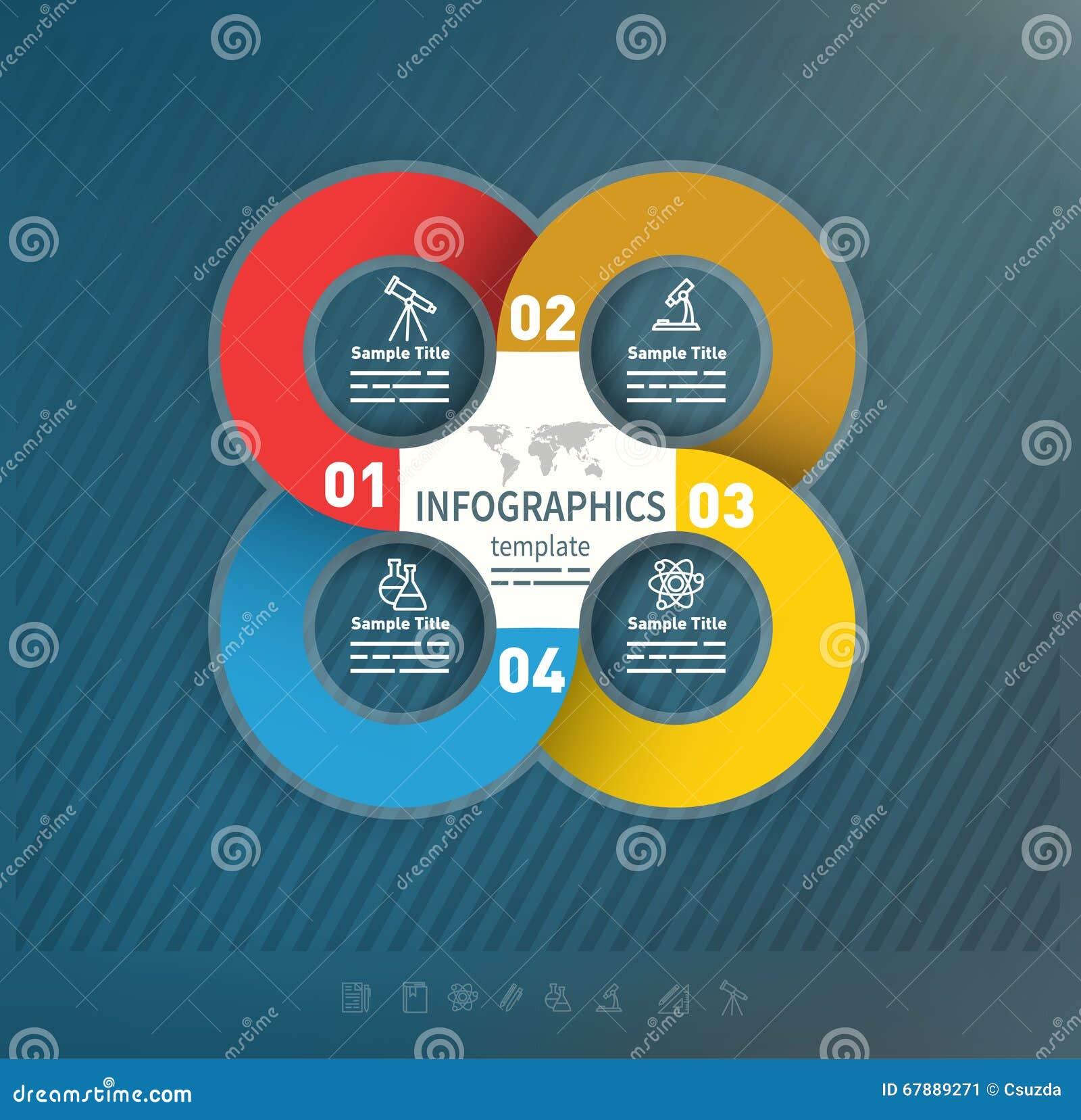 抽象企业介绍模板