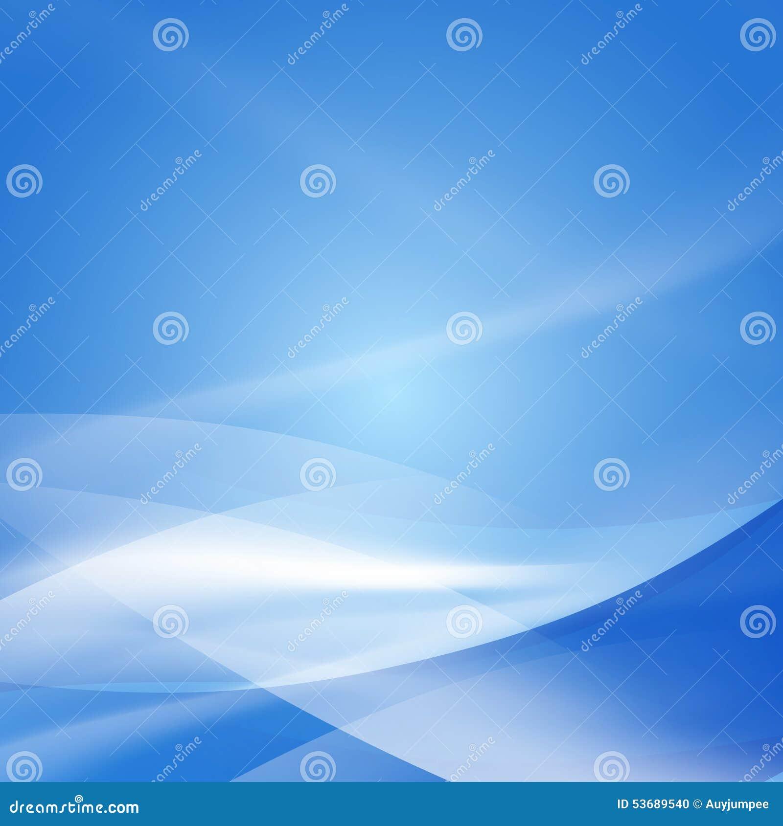 抽象光滑的蓝色流程背景、传染媒介&例证