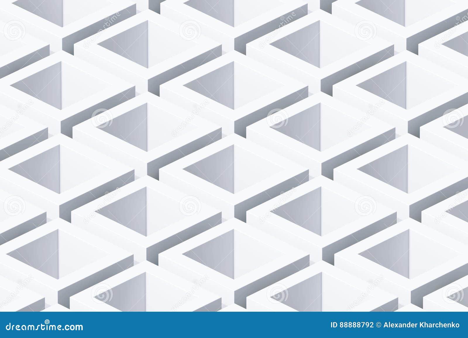 抽象几何立方体背景 3d翻译