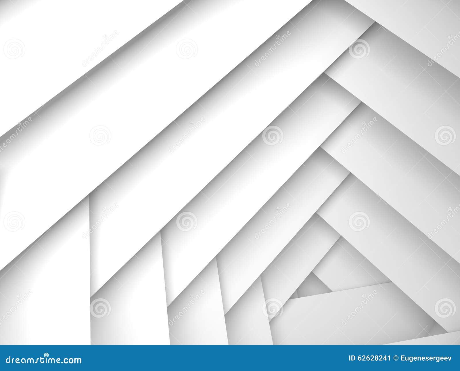 抽象几何背景,白色框架层数