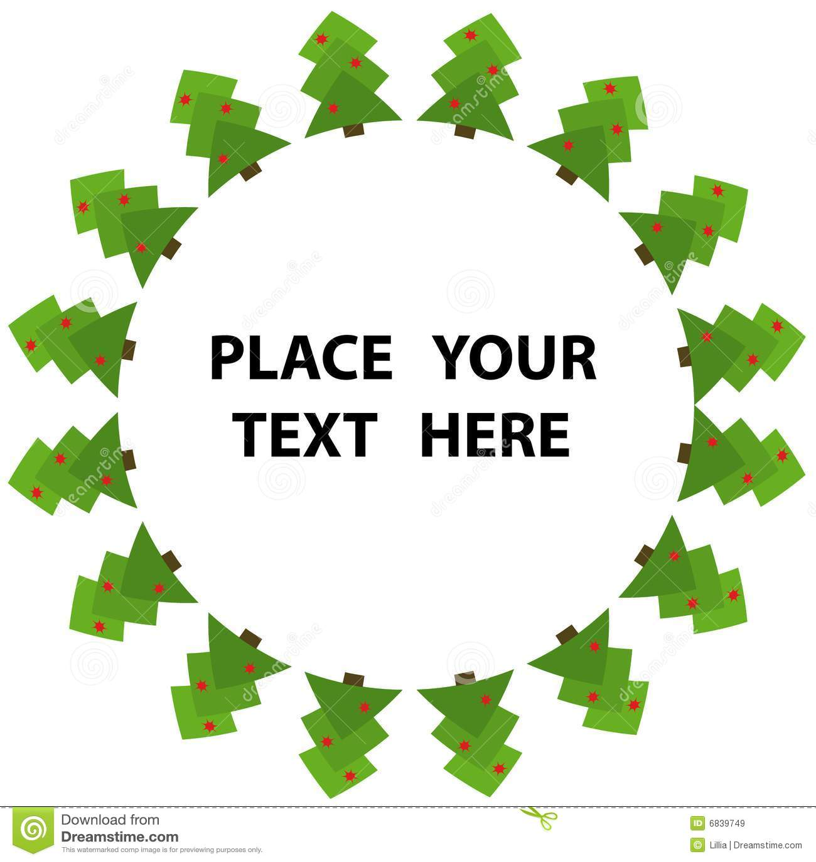抽象圣诞节绿色结构树