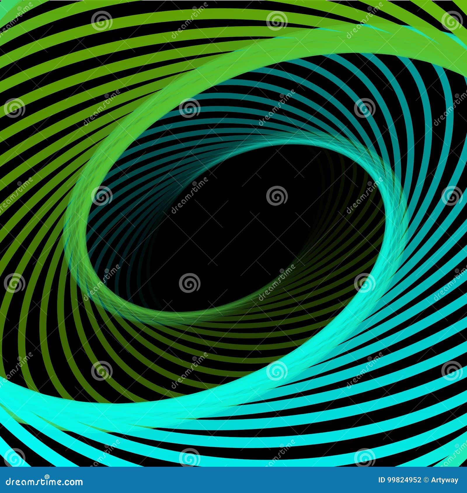 抽象宇宙,扭转线背景 纳诺技术结构,视觉效果