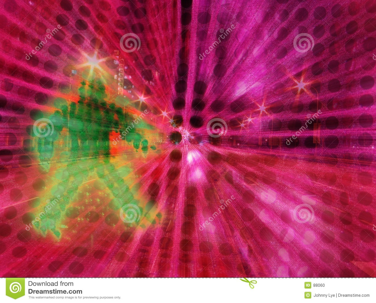 抽象拼贴画计算机提高了照片