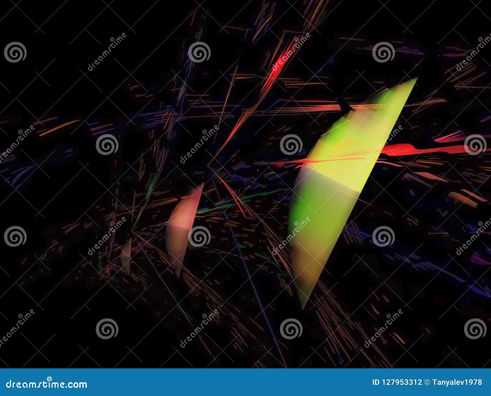 抽象数字式分数维,科学混乱能量墙纸未来派样式飘渺设计,党