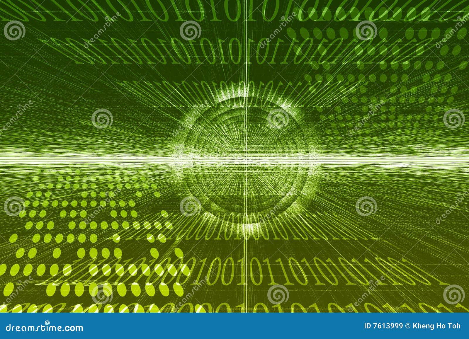 抽象未来派技术