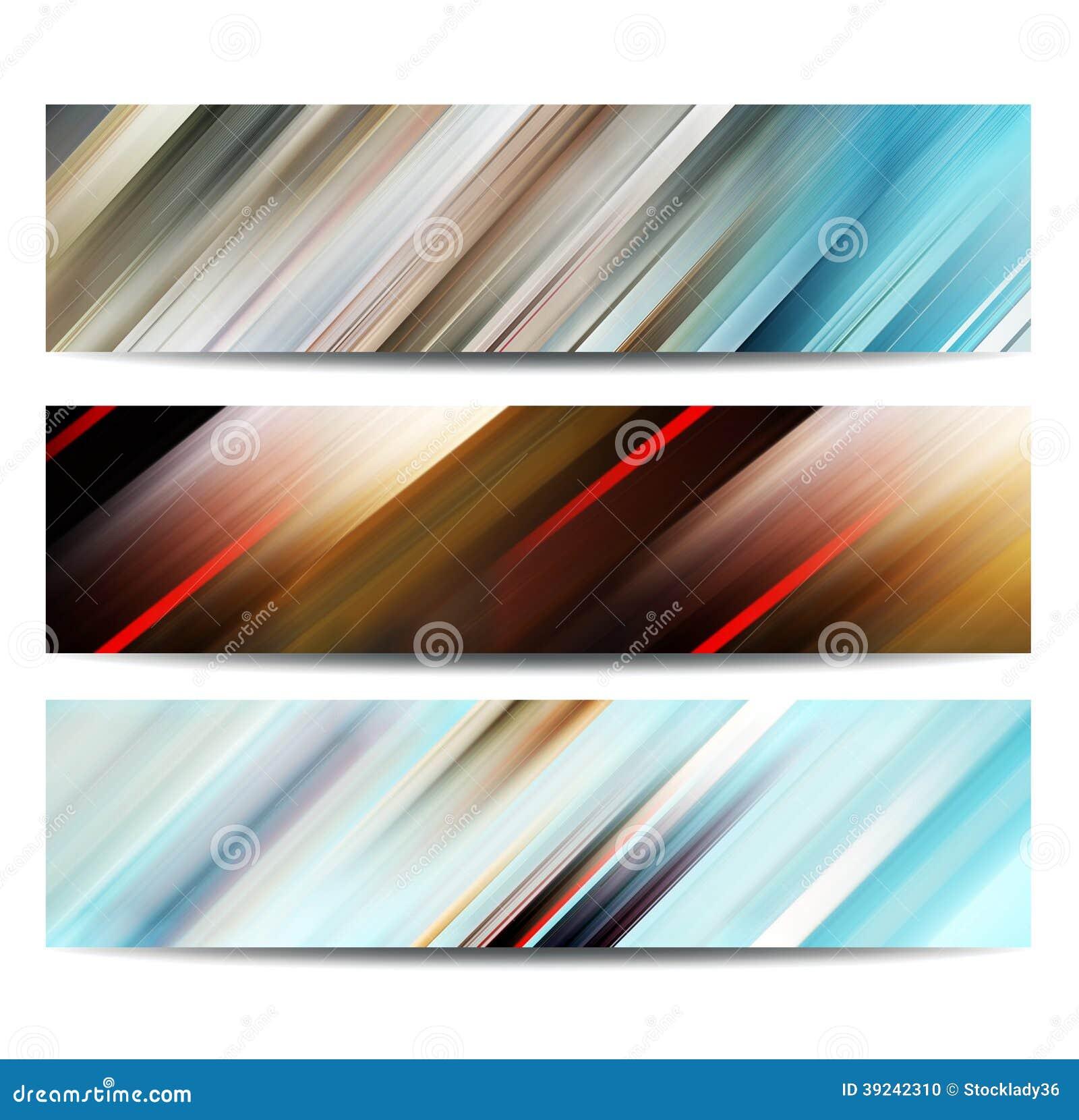 抽象横幅集合