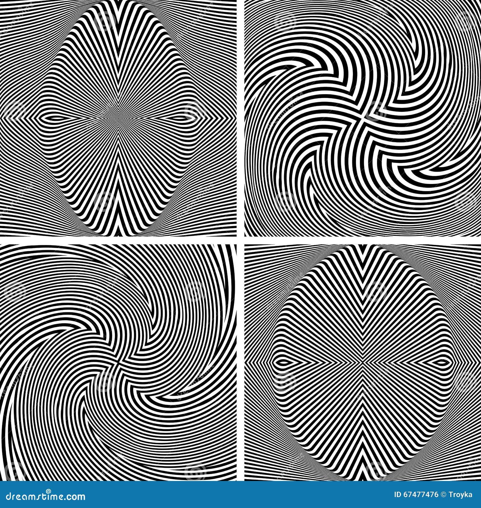 抽象欧普艺术样式 向量例证 插画 包括有  67477476