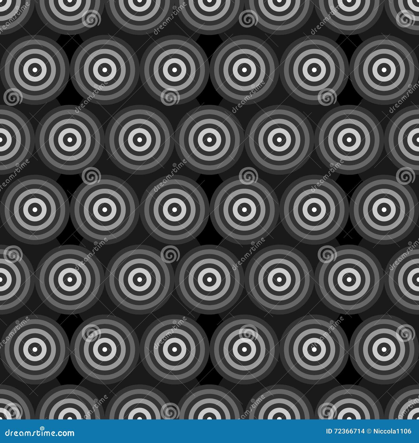 抽象灰度的圆环