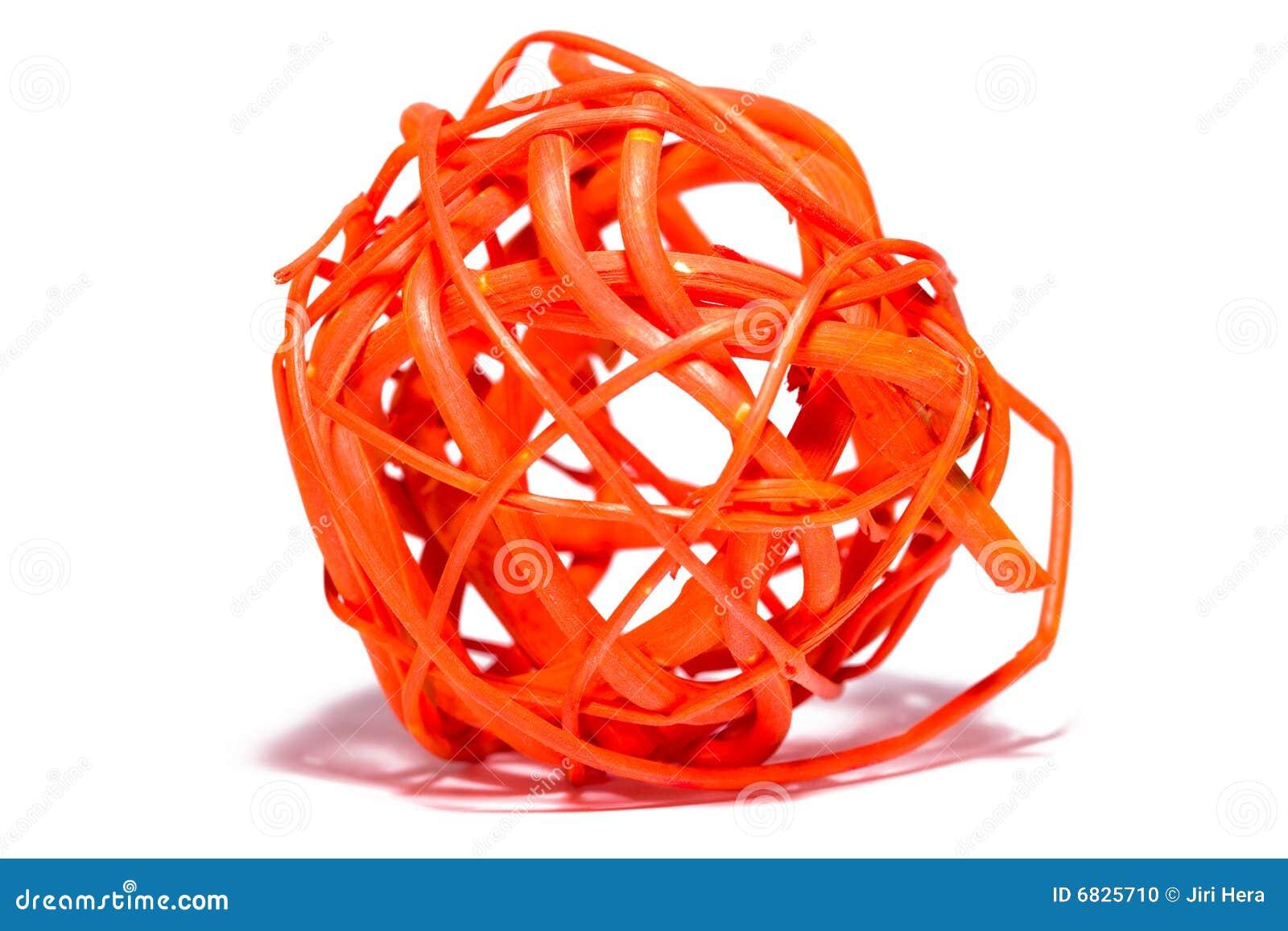 抽象球秸杆