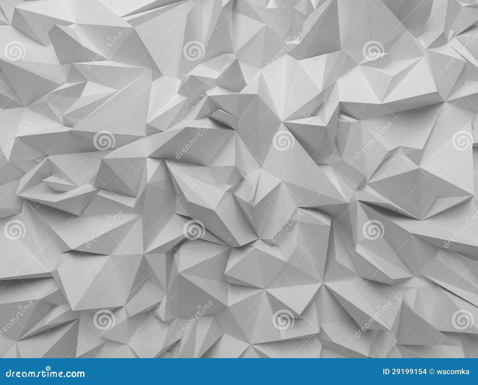 抽象白色3d雕琢平面的背景