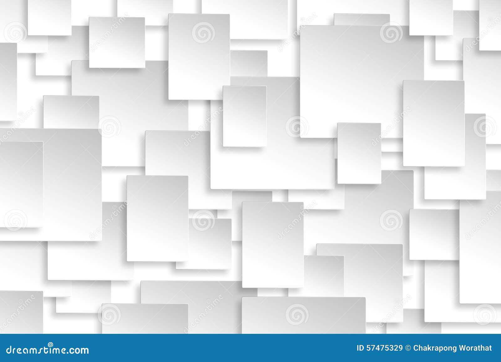 抽象纸长方形设计银背景纹理.图片