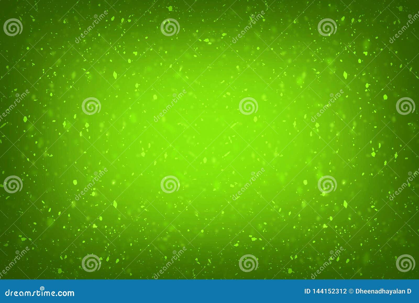 抽象绿色与典雅的古色古香的油漆的背景绿色豪华富有的葡萄酒难看的东西背景纹理设计在墙壁illust