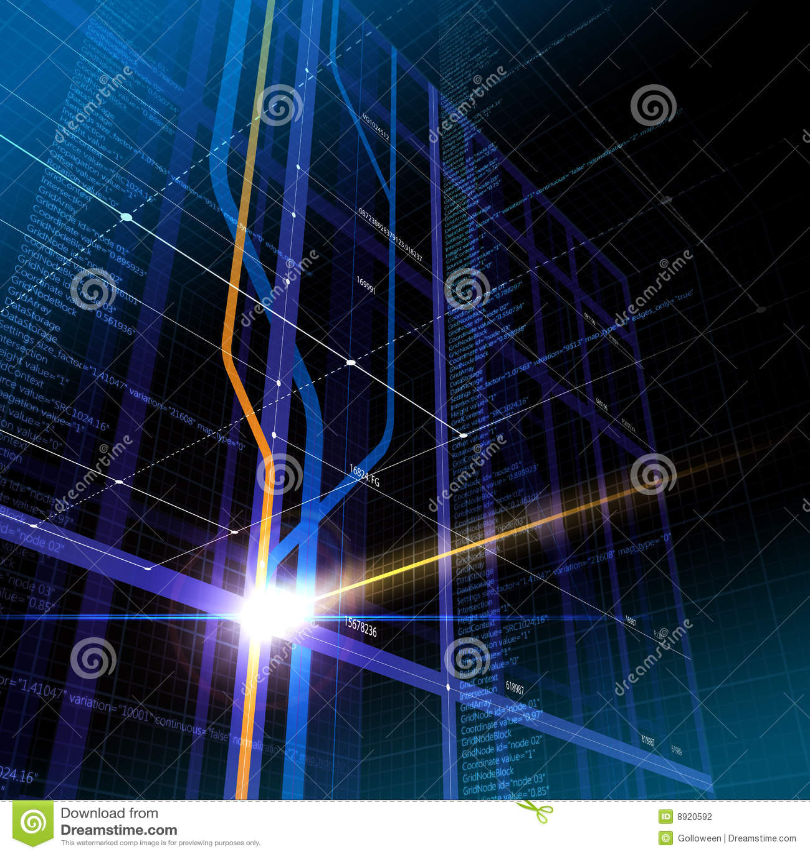 抽象网际空间信息技术