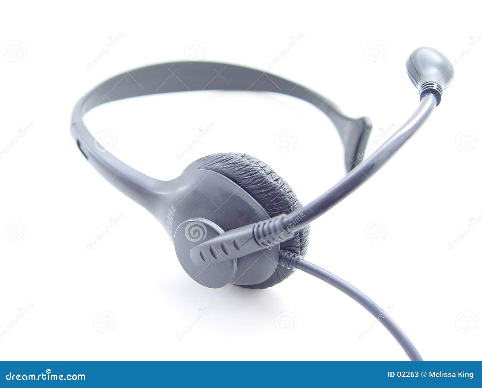 抽象耳机电话