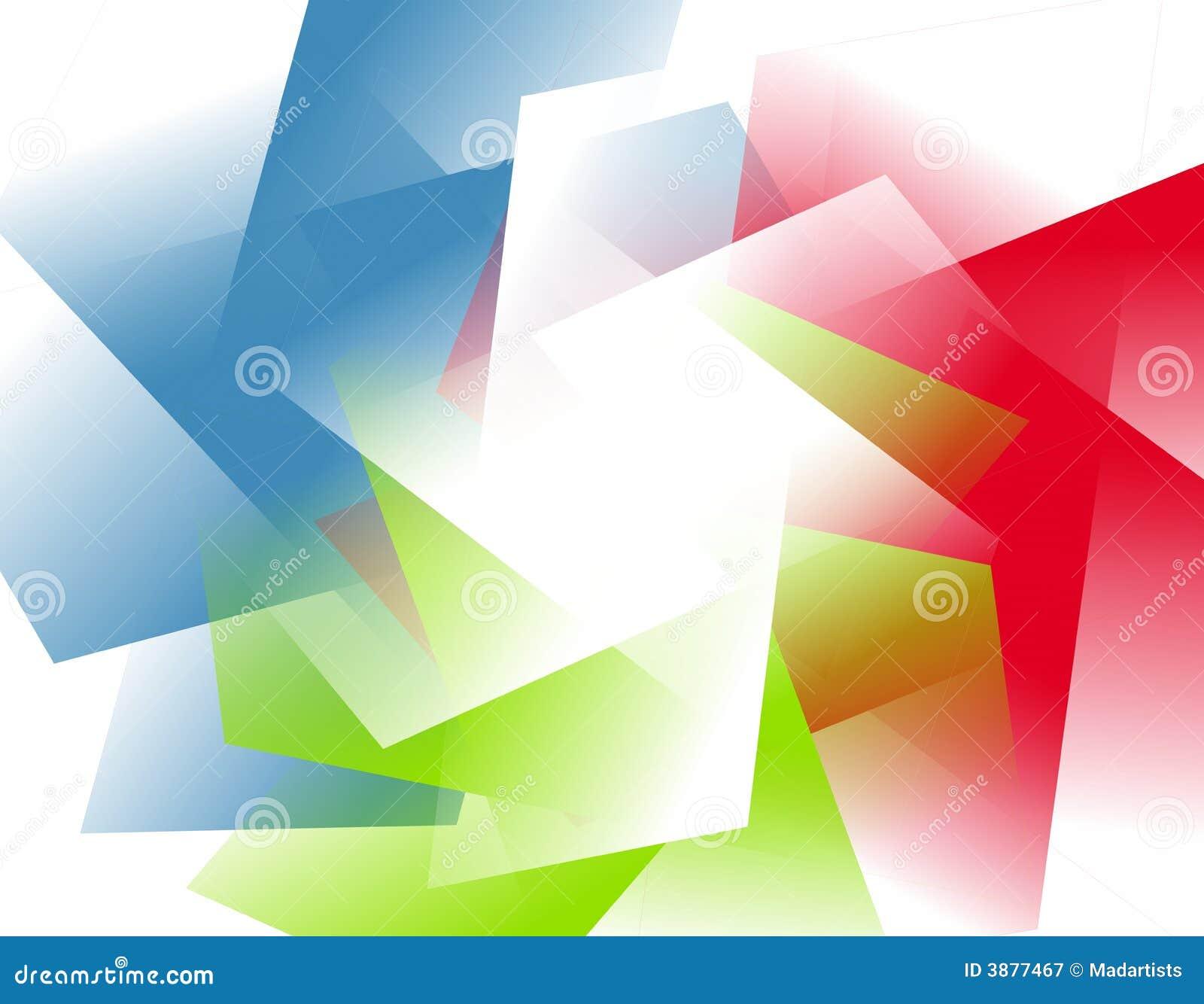 抽象背景不透明的rgb形状
