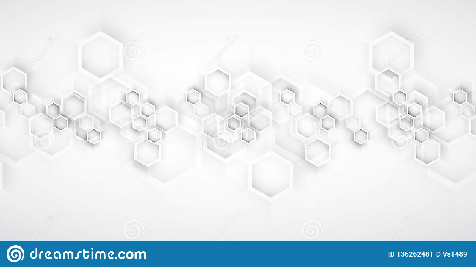 抽象背景六角形 技术poligonal设计 数字式未来派简单派