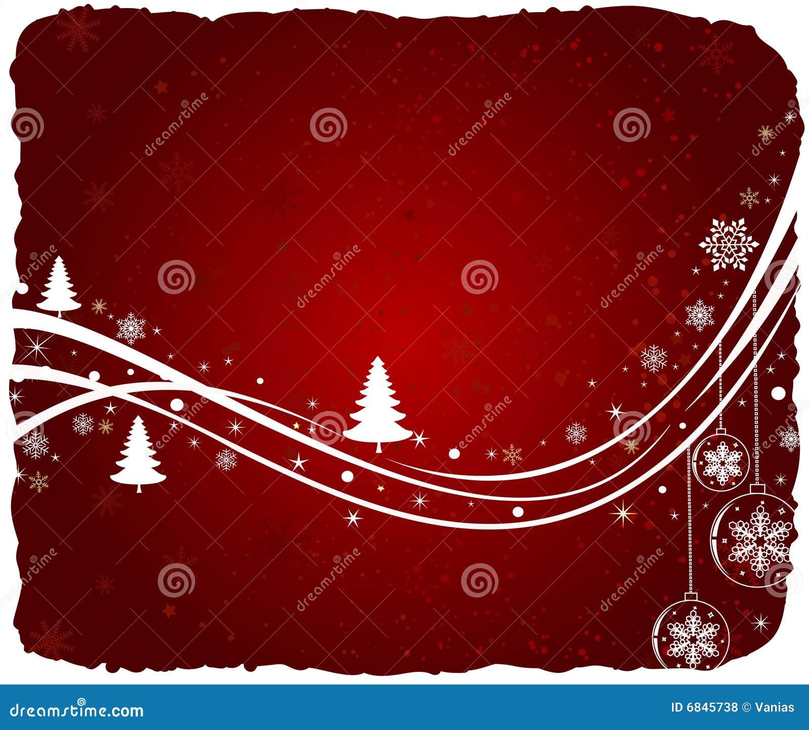 抽象背景圣诞节向量
