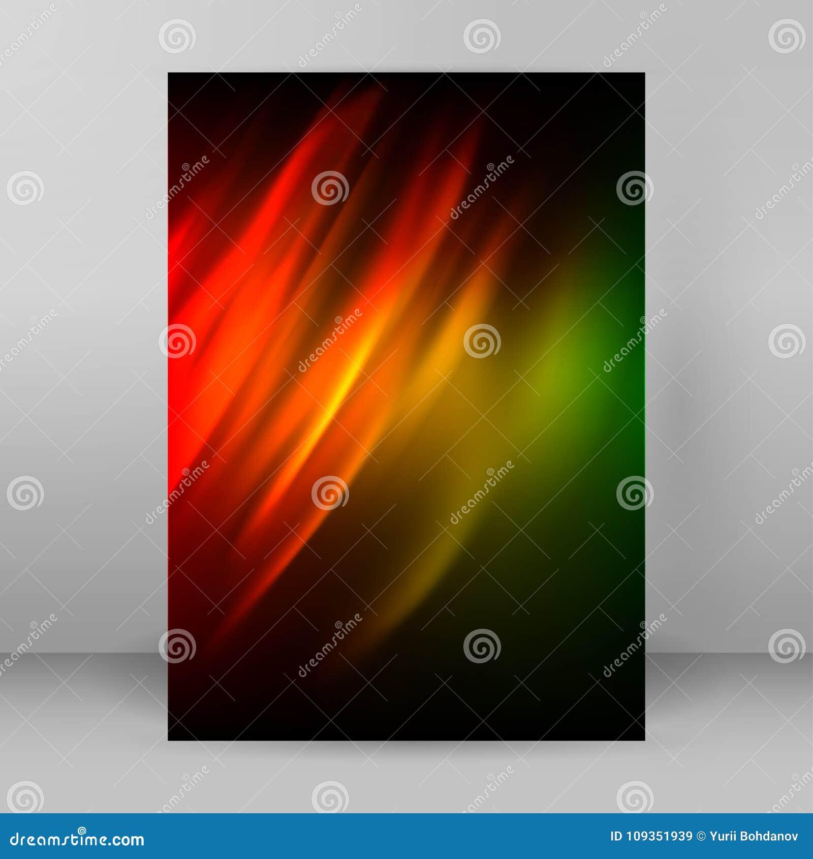 抽象背景宣传手册设计elements01