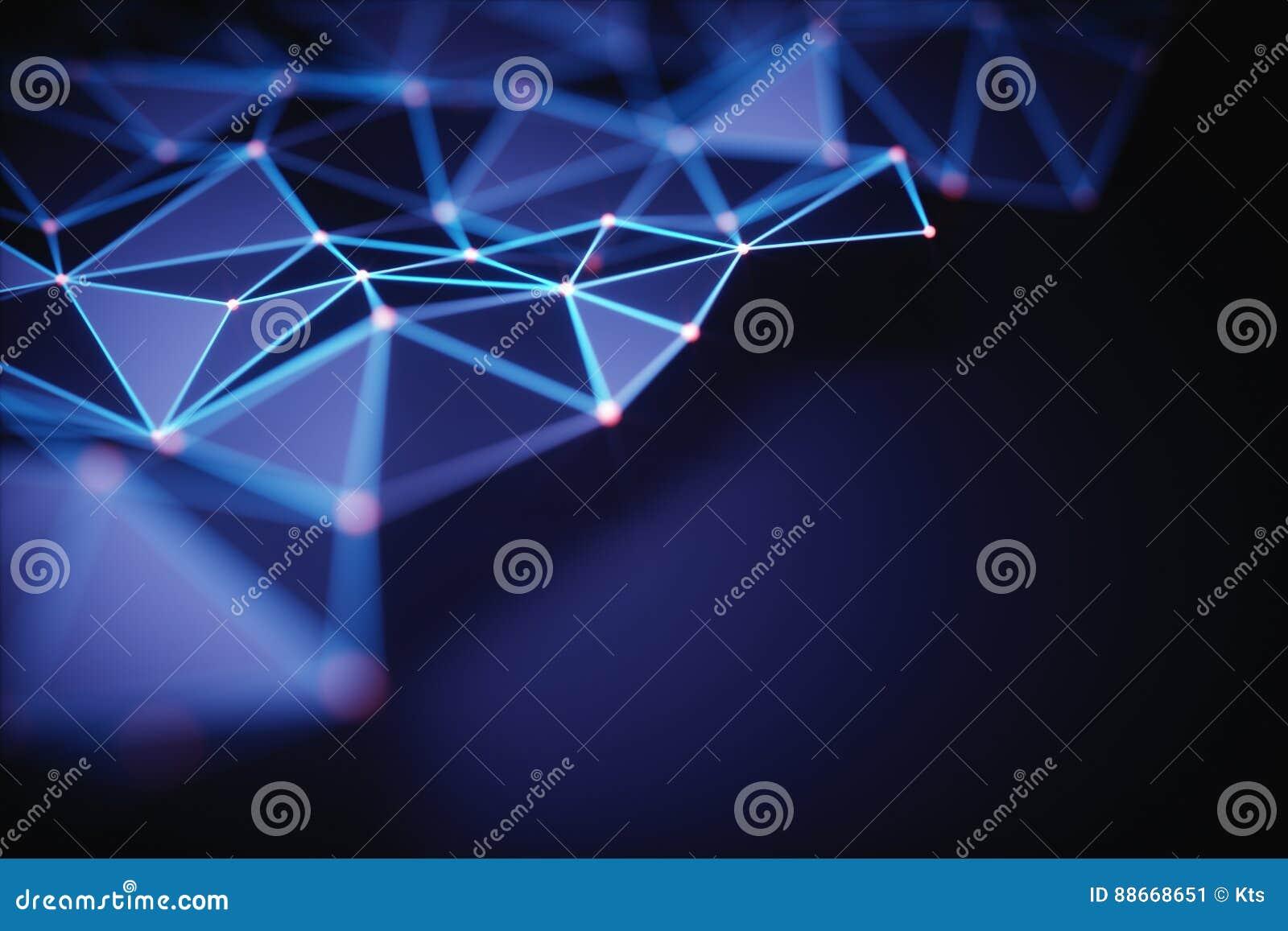 抽象背景技术连接