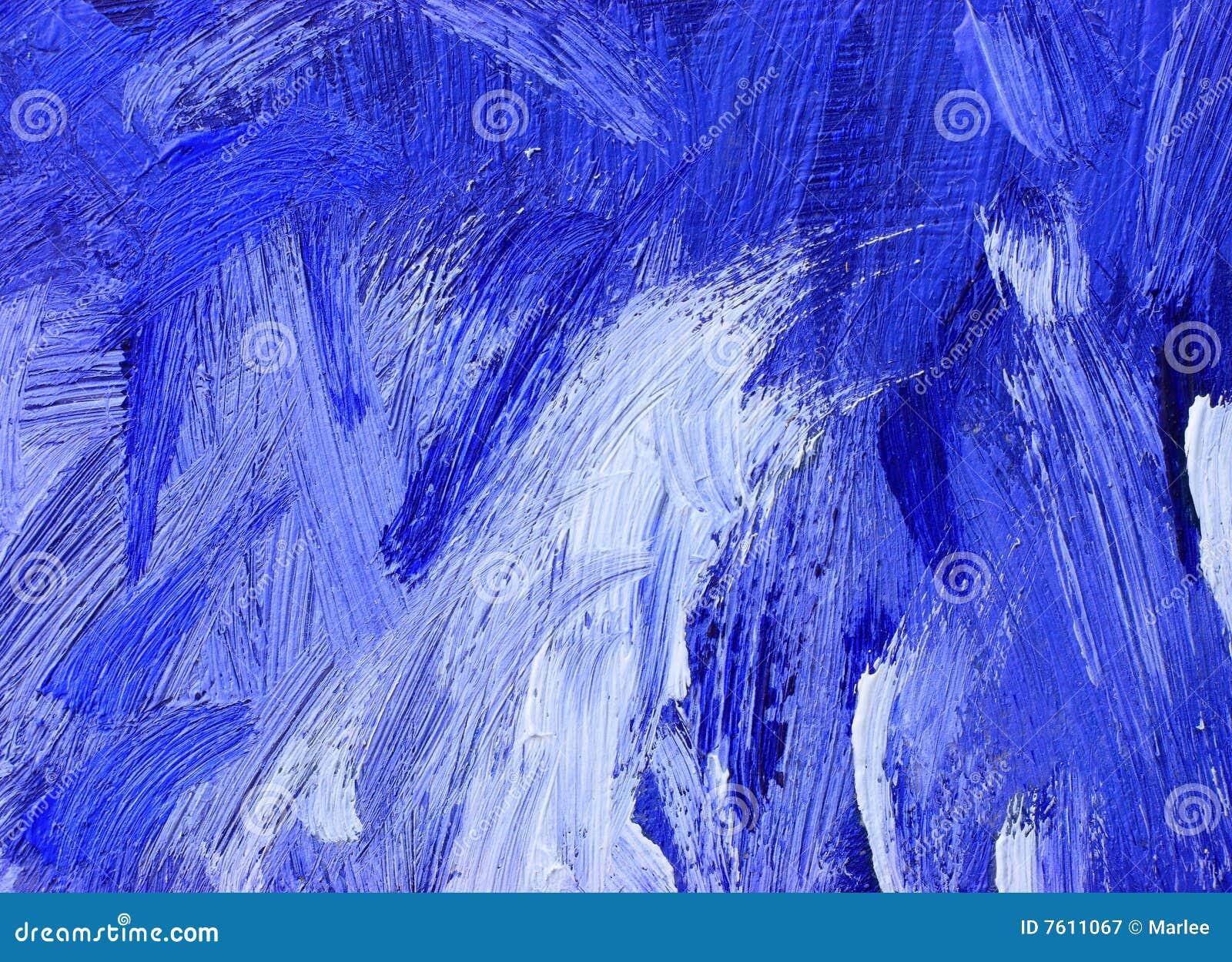 抽象背景油画