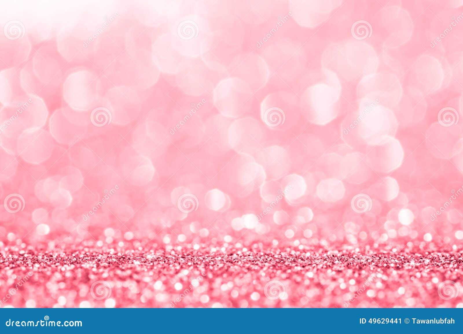 抽象背景的桃红色闪烁