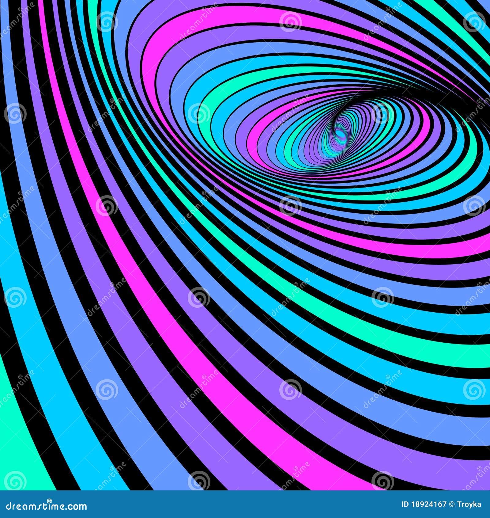 抽象背景移动螺旋旋转