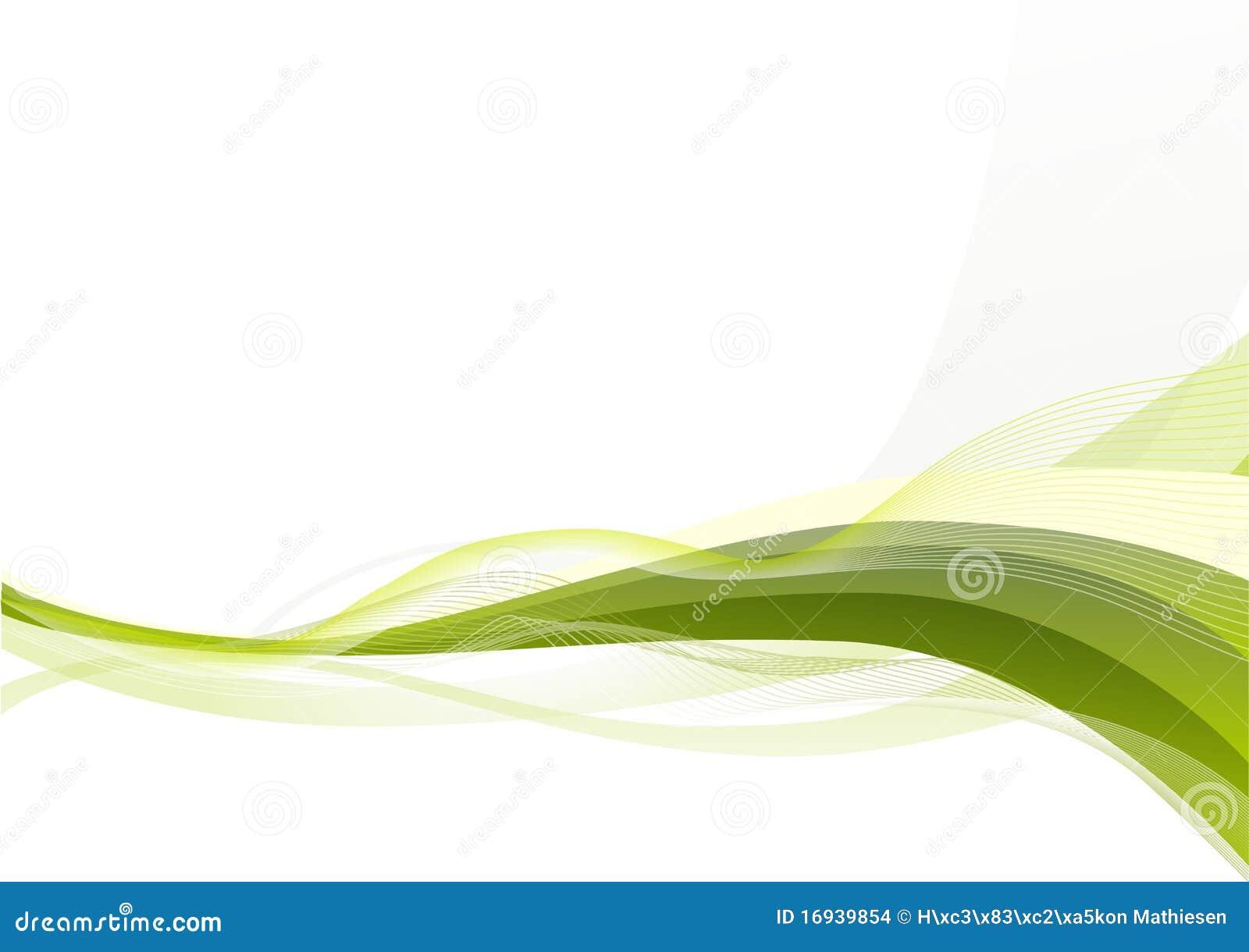 抽象背景绿色波浪 库存例证. 插画 包括有