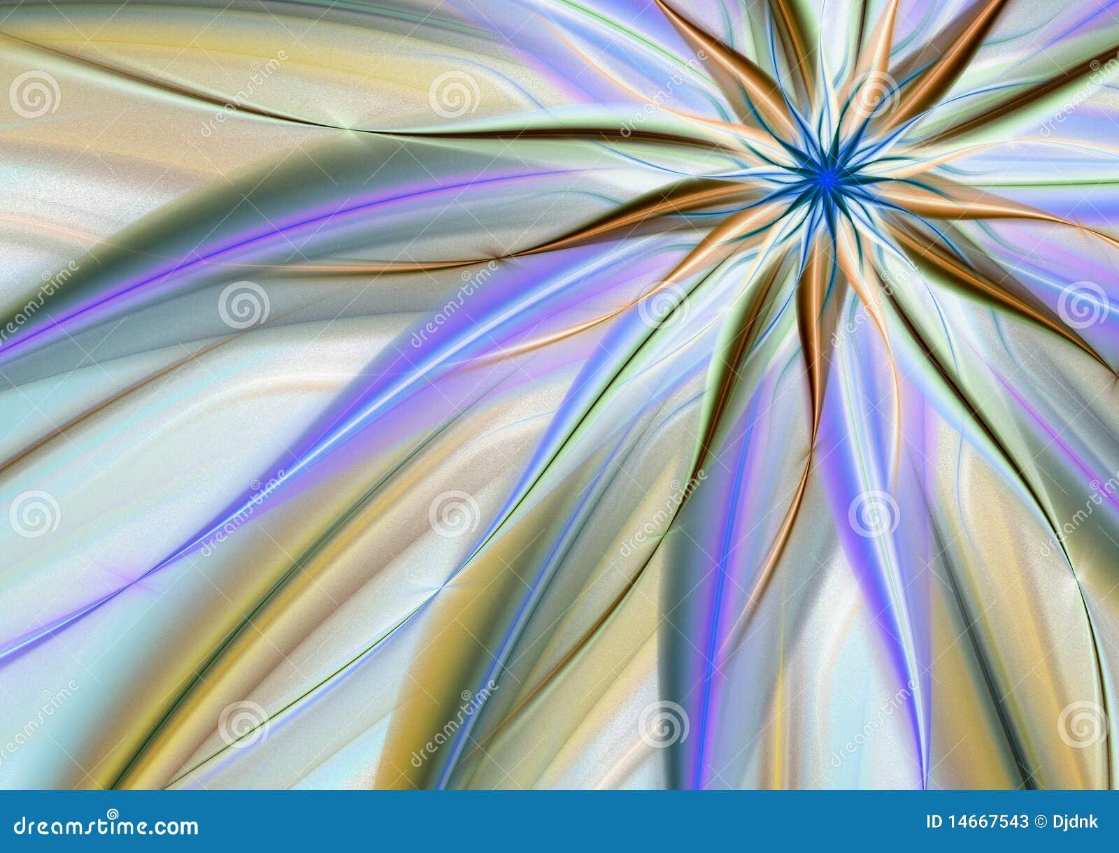 抽象背景花