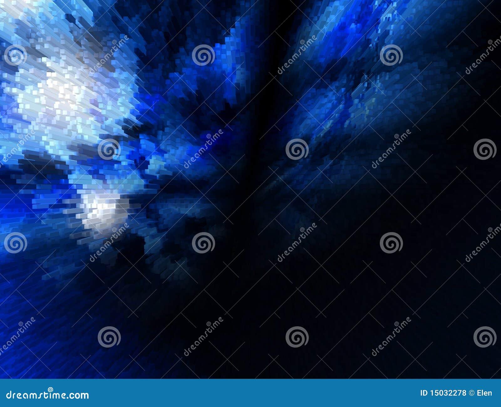 抽象背景蓝色黑暗