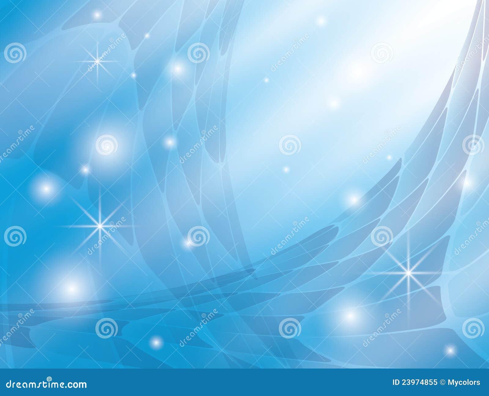 抽象背景蓝色eps星形