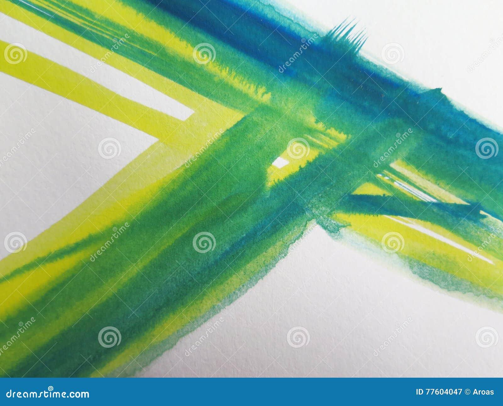 抽象背景绘了水彩