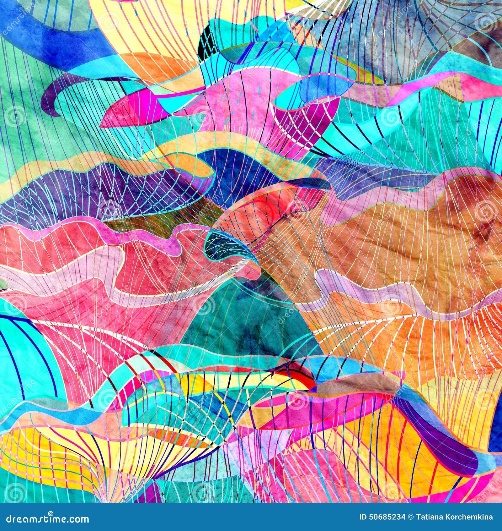 Download 抽象背景 库存照片. 图片 包括有 美丽如画, 确定, 起皱纹, 水彩, 树荫, 艺术, 重复, 减速火箭 - 50685234