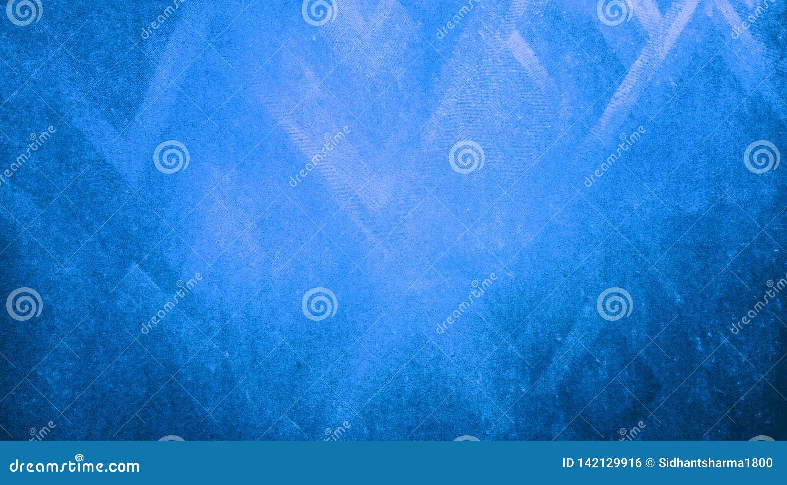 抽象蓝色晾干锋利在蓝纸背景墙纸反射的三角纹理