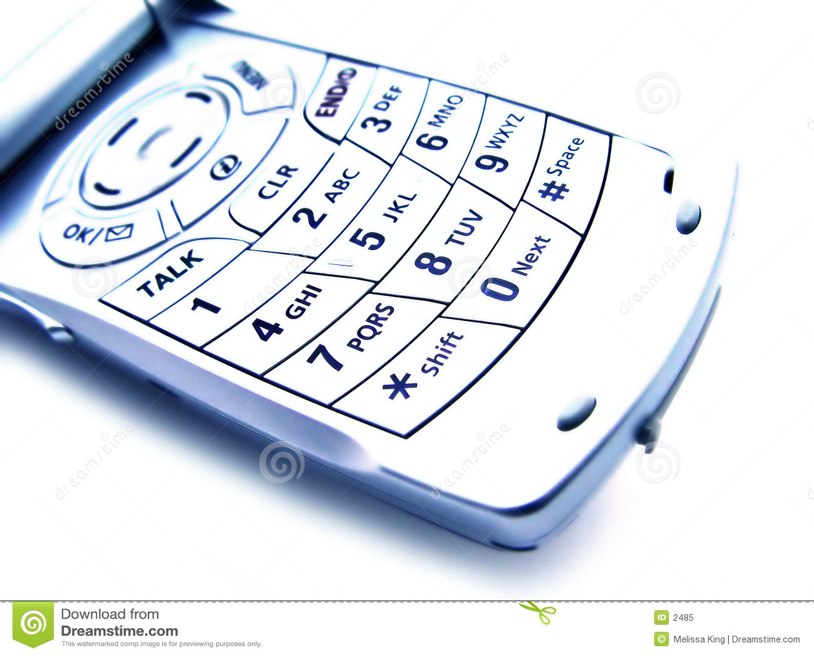 抽象蜂窝电话查出的电话