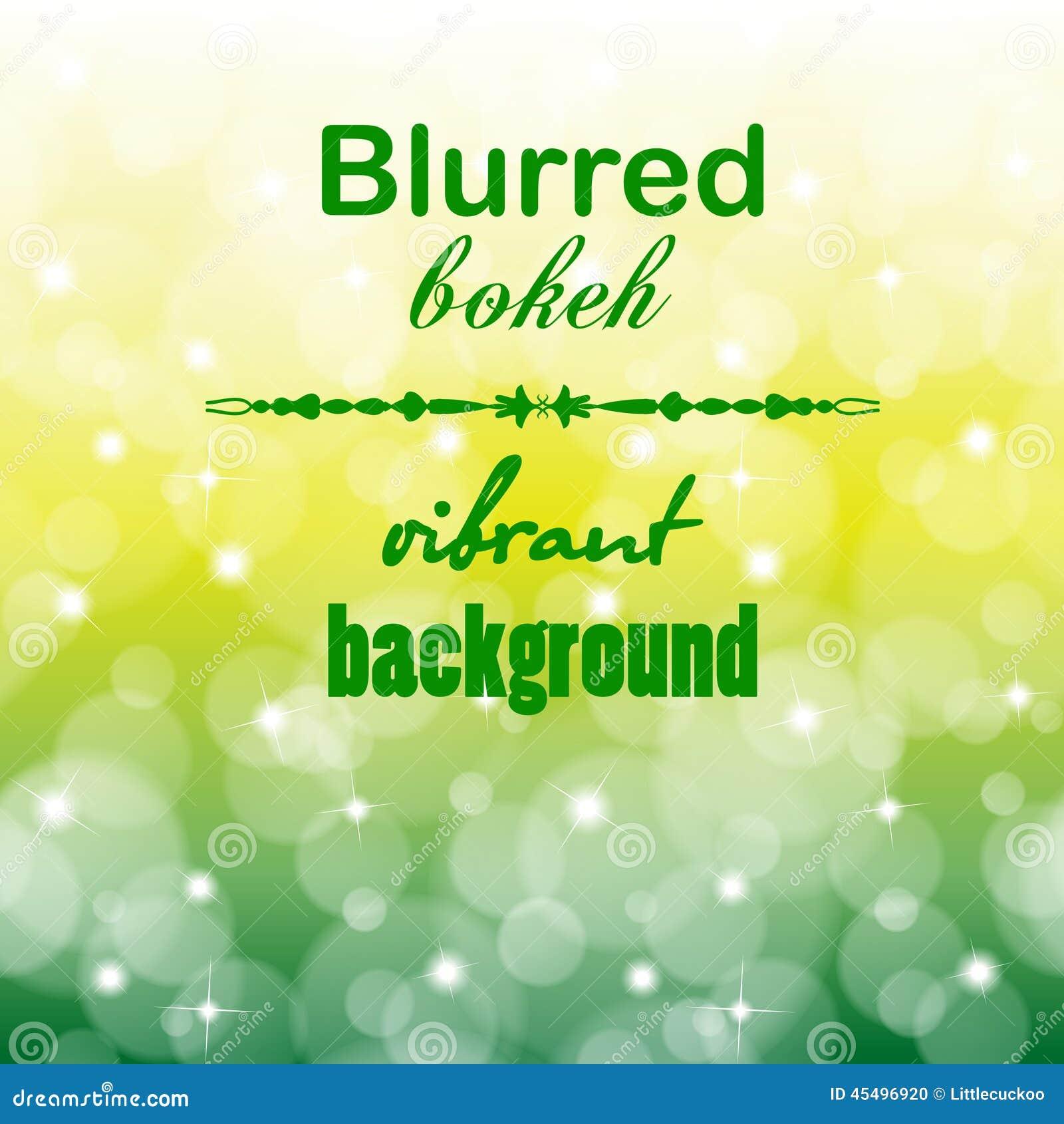 抽象迷离bokeh明亮的颜色背景