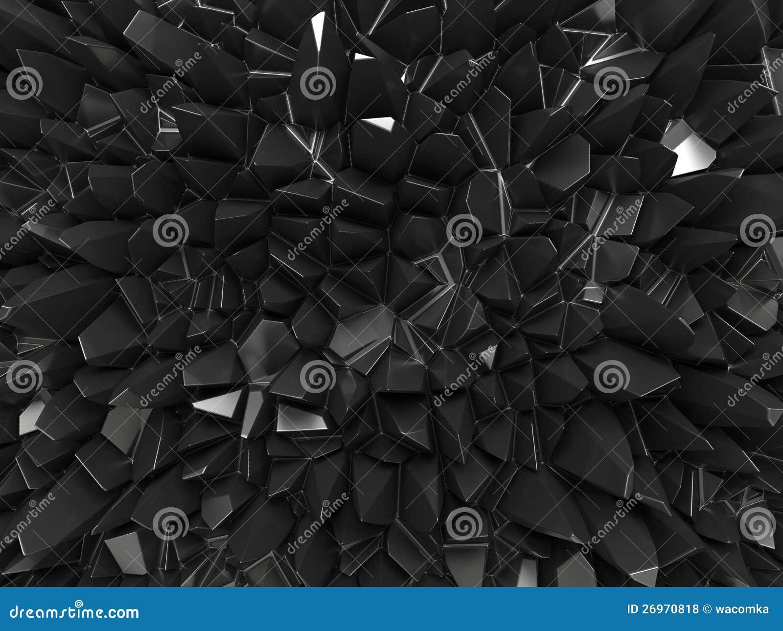 抽象黑色雕琢平面的背景