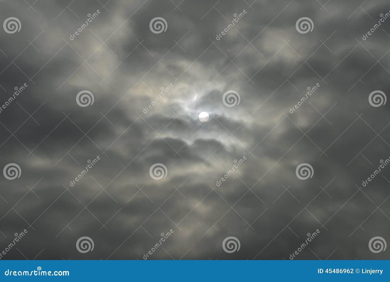 抽象黑暗的云彩